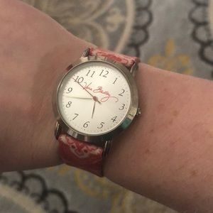 Silver/Red/White Nantucket Bandana Retired Watch